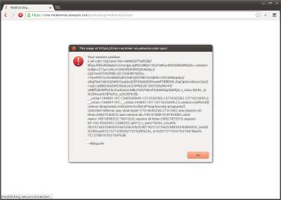 The XSS in action